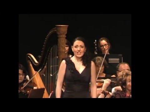"""Sophia Brommer - Augsburger Ärzteorchester - """"O zitt're nicht"""", Zauberflöte"""" (W. A. Mozart)"""