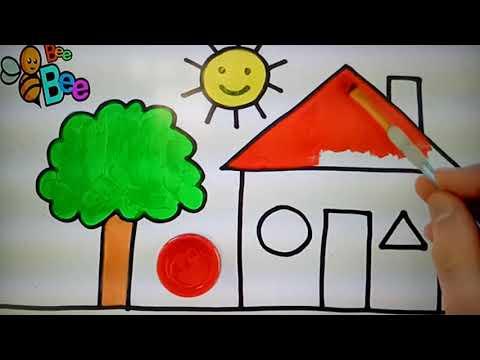 vẽ ngôi nhà tại kienthuccuatoi.com