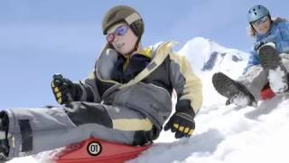Gambar cover Zipfy Mini Luge snow sled - mountain footage