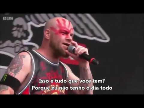 Five Finger Death Punch - Lift Me Up [LEGENDADO PTBR] [Live Reading Leeds Festival 2016]