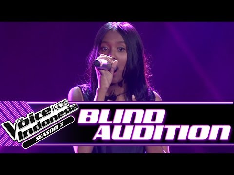 Sakira - Senandung Maaf | Blind Auditions | The Voice Kids Indonesia Season 3 GTV 2018