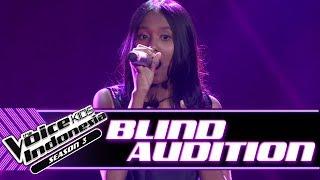 Video Sakira - Senandung Maaf | Blind Auditions | The Voice Kids Indonesia Season 3 GTV 2018 download MP3, 3GP, MP4, WEBM, AVI, FLV Agustus 2018