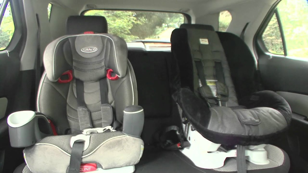 2010 Chevrolet Equinox - Seating - YouTube