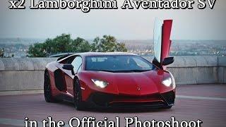Lamborghini Aventador SV in official photoshoot