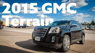 2015 GMC Terrain Test Drive