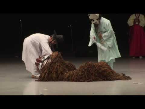 해학과 익살, 북청사자놀음 (Bukcheong Lion Dance Drama)