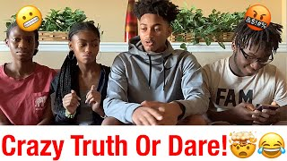 CRAZY TRUTH OR DARE ON THANKSGIVING🤬😳😂