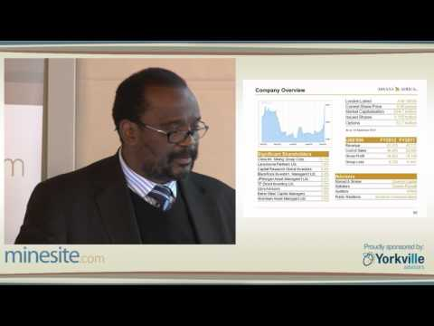 90th Minesite Forum -- Mwana Africa Plc - Kalaa Mpinga, CEO  -- 27/09/2012