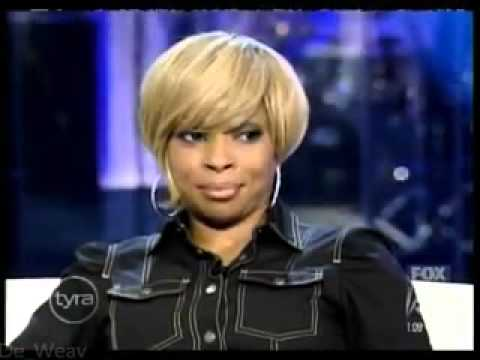 Mary J. Blige - Tyra Banks Show(Growing Pains Era)