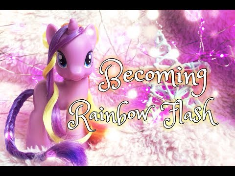 Rainbow Flash MANE STYLE Tutorial \\ Прическа Рейнбоу Флеш