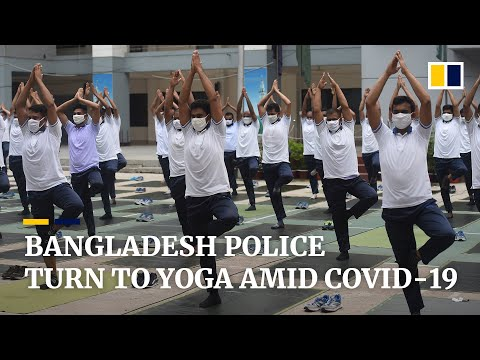 'breathe-in,-breathe-out':-yoga-helps-bangladesh-police-boost-mental-health-amid-covid-19-pandemic
