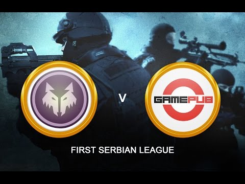 CS:GO - FaithIN vs. Gamepub[Mirage - Map 2] - First Serbian League [ LAN FINALS]