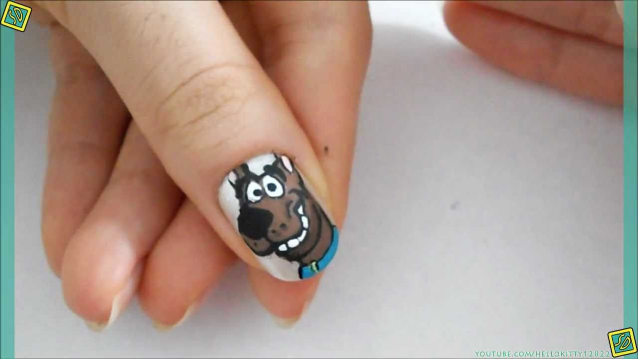 Scooby doo nails youtube scooby doo nails prinsesfo Image collections