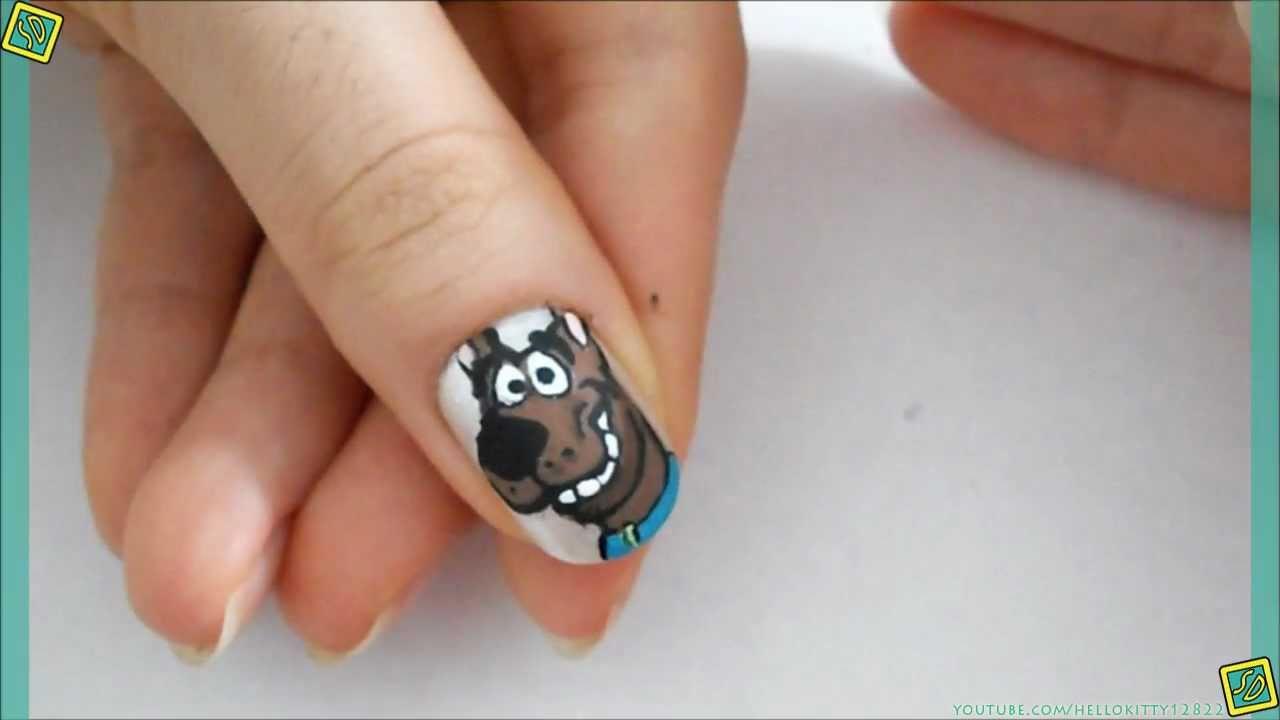 Scooby Doo Nails Youtube