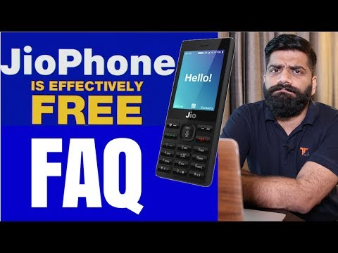 Jio Phone FAQ - HotSpot? Whatsapp? Plans? Price? FREE? Unlimited?