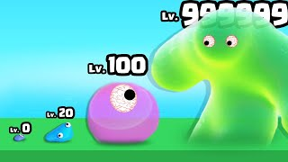 GROWING a MAX LEVEL BLOB SLIME in Slime Farmer