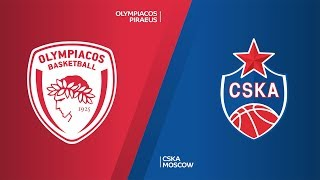 Olympiacos Piraeus - CSKA Moscow Highlights | Turkish Airlines EuroLeague, RS Round 24