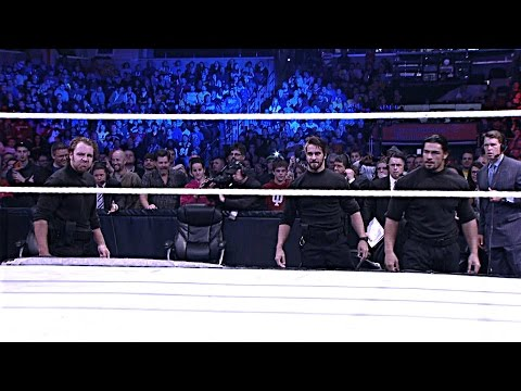The Shield debut at Survivor Series 2012