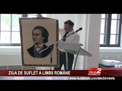 ZIUA DE SUFLET A LIMBII ROMaNE