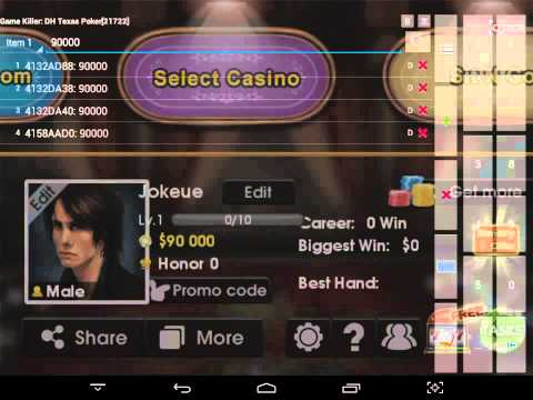 Cheat DH Texas Poker Android Bot