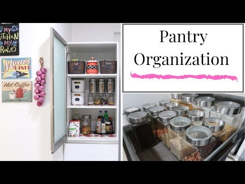 Pantry Organization - Kitchen Organization Ideas