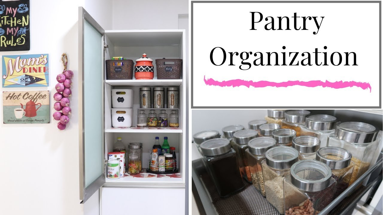 Pantry Organization - Kitchen Organization Ideas