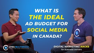 What is the ideal ad budget for a small business in Canada?