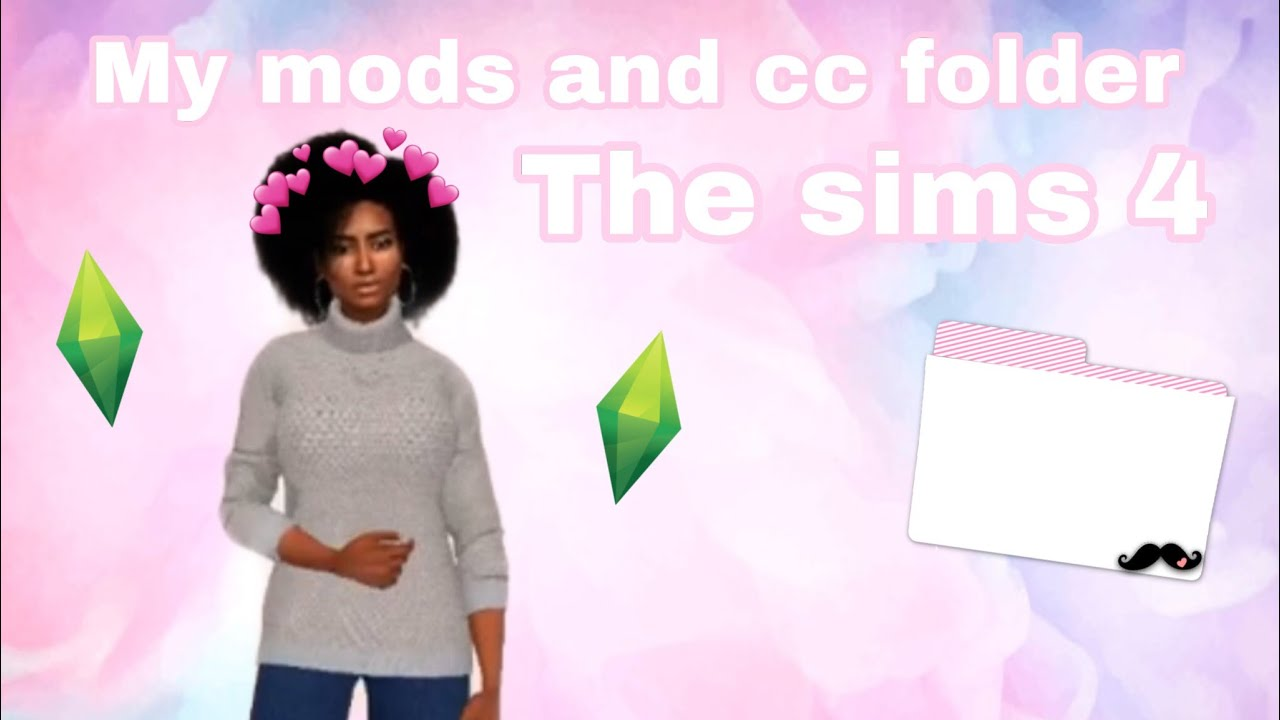 My Alpha CC and Mods folder 2019 20GB The Sims 4 YouTube