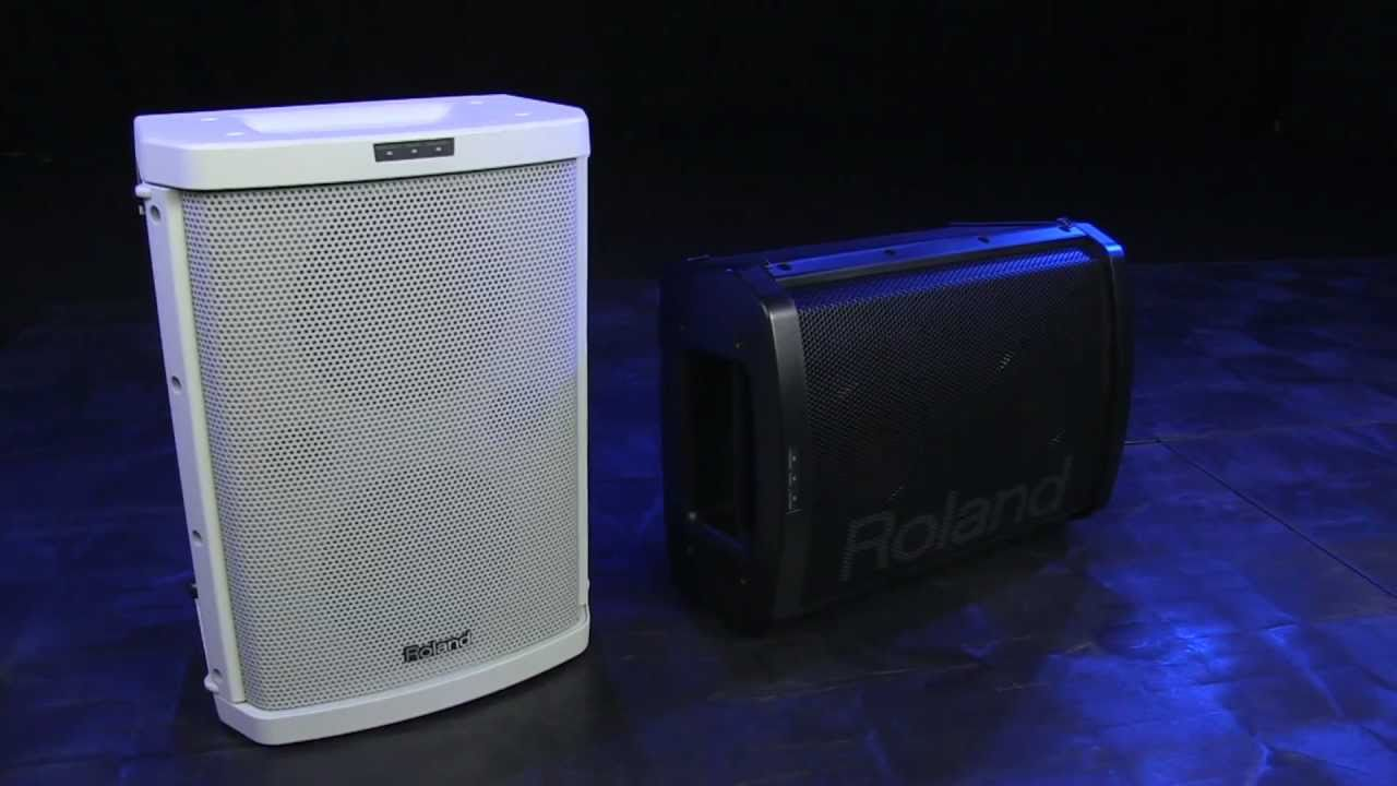 Roland Ba 55 Battery Powered Portable Amplifier Receiver Speakers Mono Sub And Subwoofer Video Library