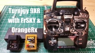 Turnigy 9XR with FrSKY & OrangeRX module...