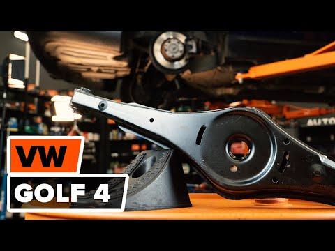 Super Hoe een voorste onderarm vervangen op een VW GOLF IV [HANDLEIDING PM-15