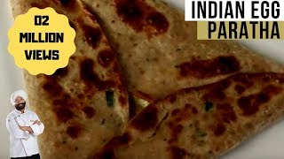 Indian Egg Paratha Recipe at home | (Anda Parantha Recipe) By Chef Harpal Singh