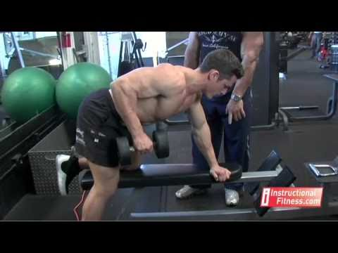 Remo horizontal con mancuerna, One Arm Dumbbell Rows 1