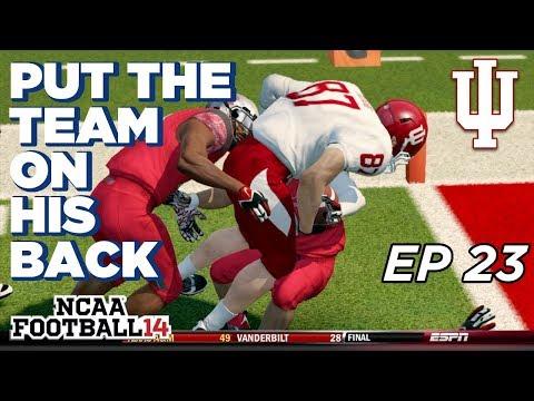 NCAA Football 14 Dynasty | Indiana Hoosiers - BABY GRONK is a BEAST! - Ep 23