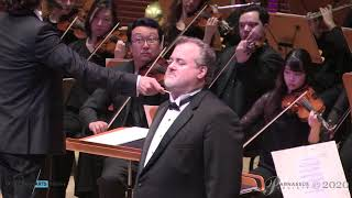 """Scott Dunn conducts """"Nessun dorma"""" by Puccini from Turandot with Bruce Sledge"""