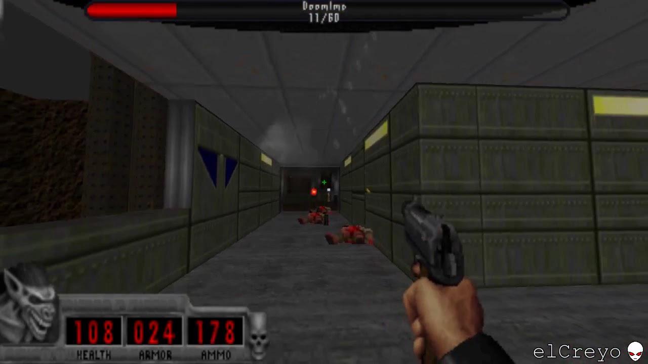 Doom II - Requiem map 01 [Ultra Crispy + JP HUD + QCDE music]