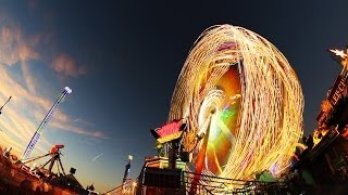 Oktoberfest Lightpainting Timelapse Full HD