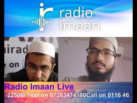 Hafiz Amanullah Qazi (Live naats on Radio Imaan)
