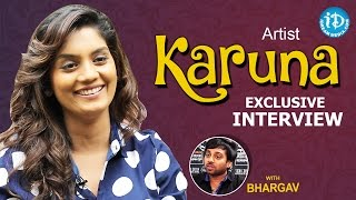Repeat youtube video Artist Karuna Exclusive Interview || Talking Movies with iDream #216