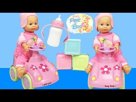 Baby Alive ve Arabalı Oyuncak Bebek ile Bebek Bakma Oyunu   Bebek Videoları   EvcilikTV