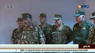 دفاع : الفريق أحمد قايد صالح في زيارة الى الناحية العسكرية السادسة