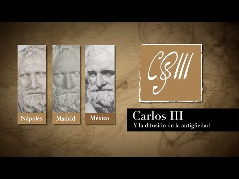 Inauguración Carlos III y la difusión de la antigüedad
