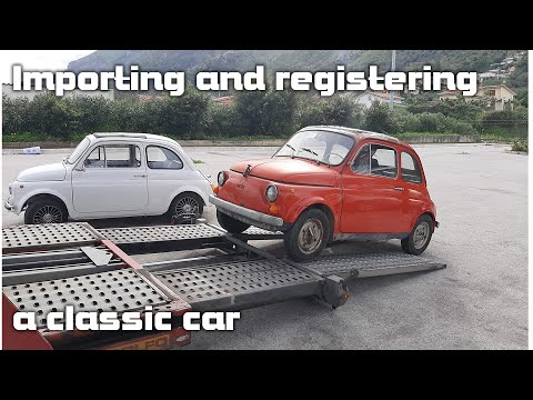 How to import and register a classic car in the UK (post Brexit)