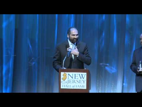 Franco Harris Inducted into the New Jersey Hall of Fame 2011