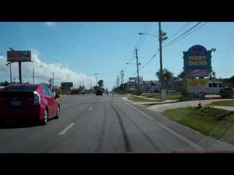A Drive Down Thomas Drive Panama City Beach, Florida