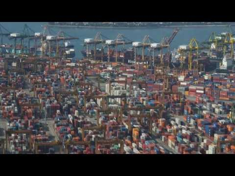Singapore Container Terminal [HD]