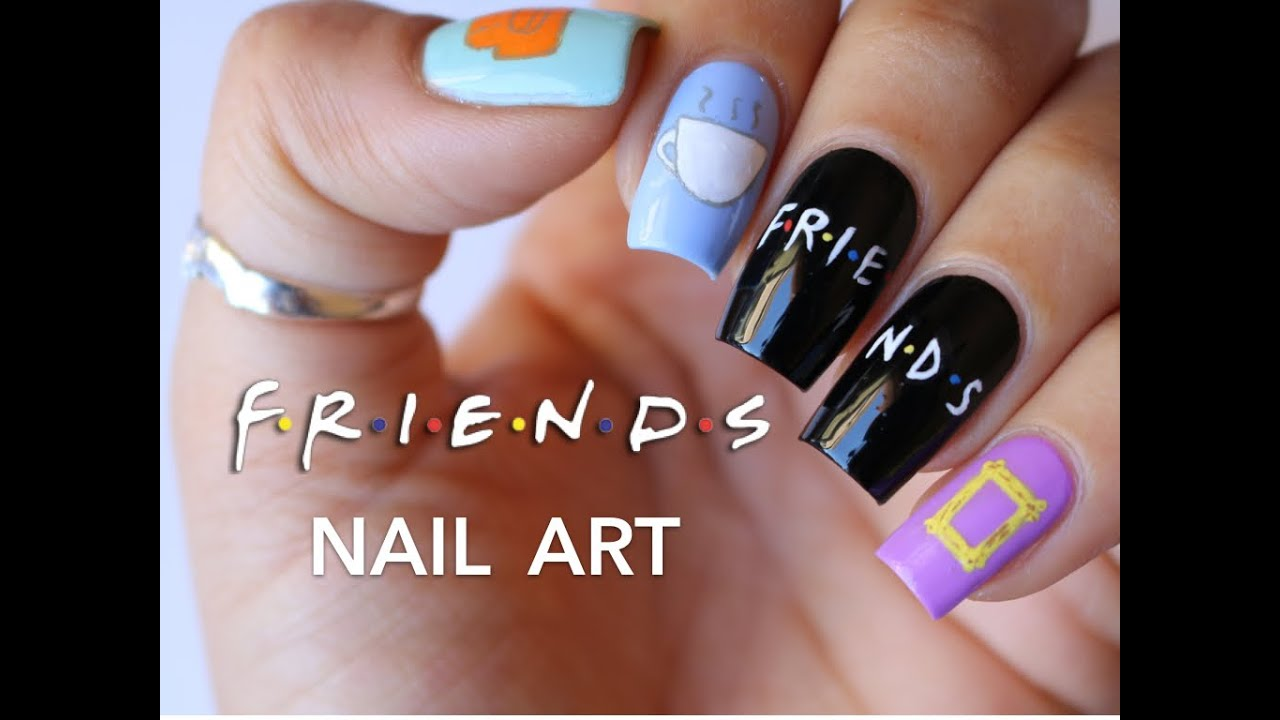 Friends Tv Show Nail Art Banicured Youtube