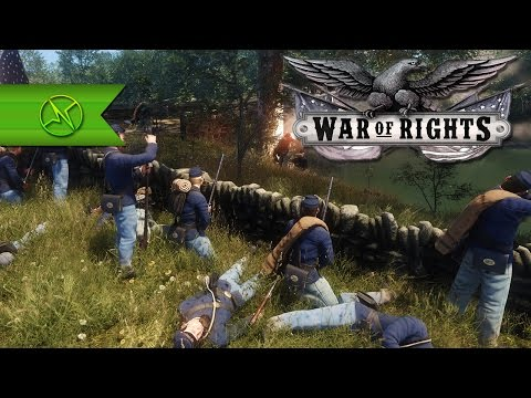 BEST Looking CIVIL WAR GAME EVER? - War Of Rights First Look/Impressions