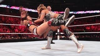 CM Punk & AJ vs. Daniel Bryan & Eve: Raw, July 9, 2012