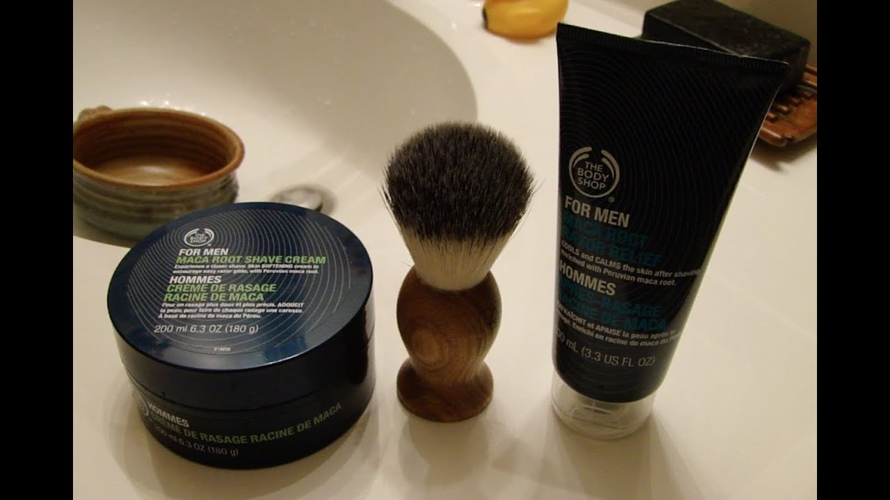 Favorite The Body Shop Shaving Set - YouTube DO59